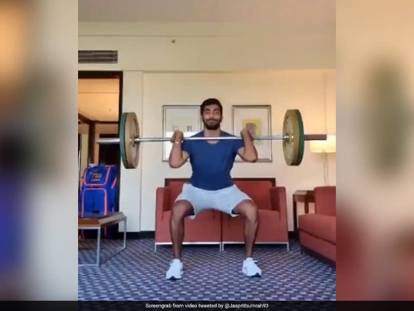 IPL 2021: Jasprit Bumrah Gives Fans A Sneak Peek Into His Quarantine Workout. Watch
