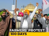 Video : Protesting Farmers Mark 'Black Day' Today On Reaching 100-Day Milestone