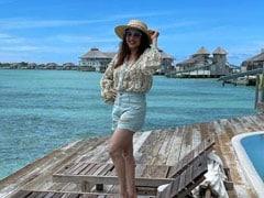 Madhuri Dixit, Holidaying In Maldives, Shares This Stunning Pic