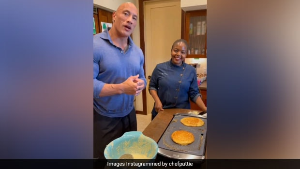 Dwayne 'The Rock' Johnson Shares His Famous Coconut Banana Pancake Recipe - Try It Today!