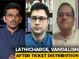 Video: Anger, Chaos Outside BJP Office In Kolkata
