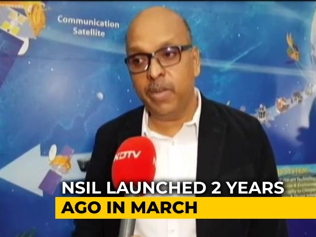 Video : Director Of Commercial Wing Of ISRO Speaks On Agency's Achievements