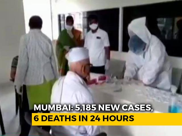 Video: With 5,185 New Covid Cases, Mumbai Records Its Highest Single Day Spike
