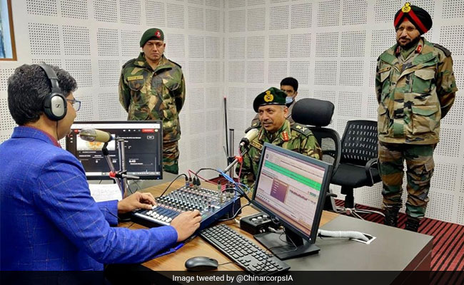Army Starts Its First Community Radio Station In North Kashmir