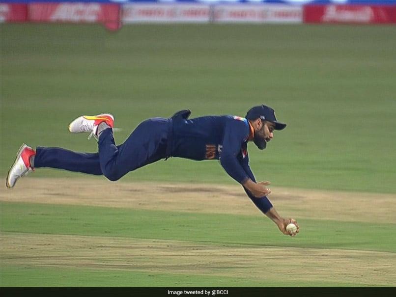 India vs England: Virat Kohli Pulls Off Stunning One-Handed Catch To Dismiss Adil Rashid. Watch
