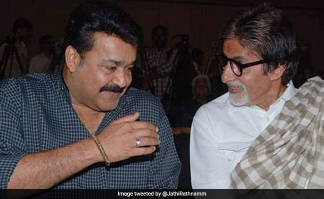 For Mohanlal's Directorial Debut Barroz, Lots Of Best Wishes From Amitabh Bachchan