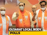 Video : Strong BJP Start In Early Leads As Votes Counted For Gujarat Local Polls