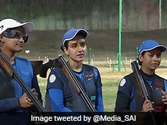 ISSF World Cup: Indian Women's Trap Team Settles For Silver