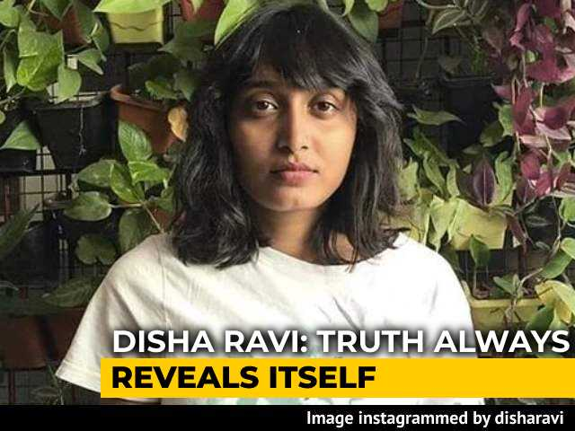 "Video : ""Pronounced Guilty By Seekers Of TRPs"": Activist Disha Ravi Hits Back"