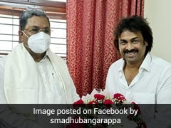 Former JD(S) MLA Madhu Bangarappa Joins Congress