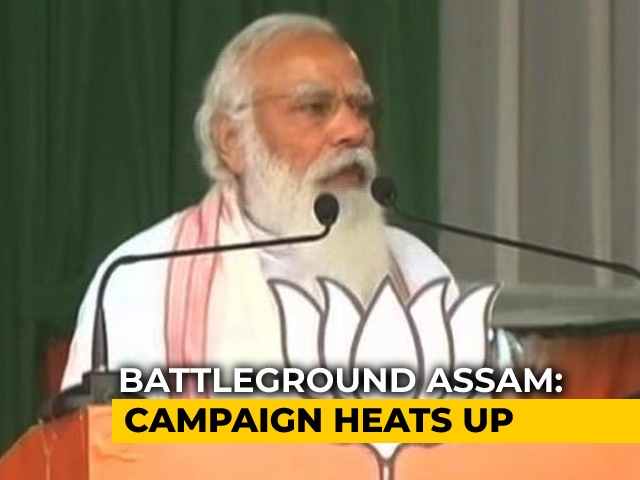 """Video : """"Congress Trying To Confuse Tea Garden Workers"""": PM In Assam"""