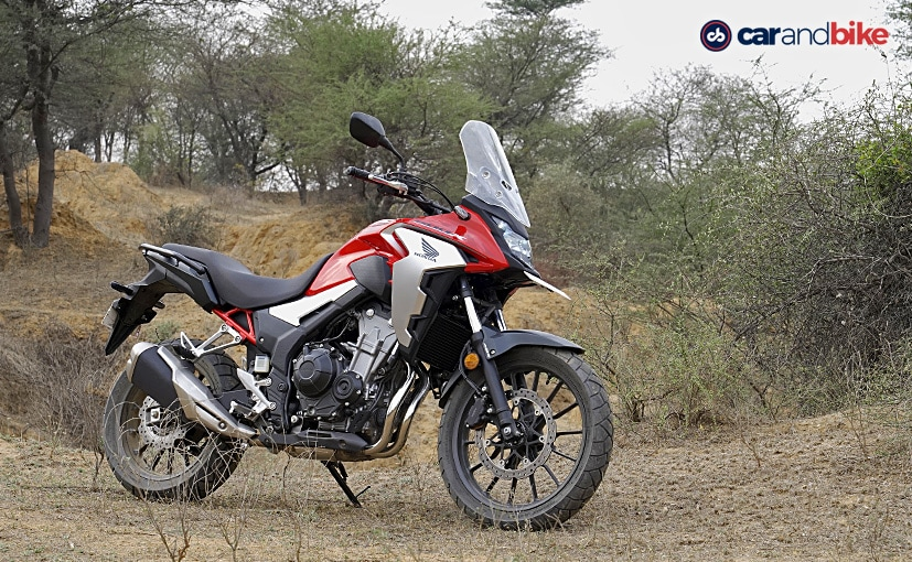 The 2021 Honda CB500X was launched in India in March 2021