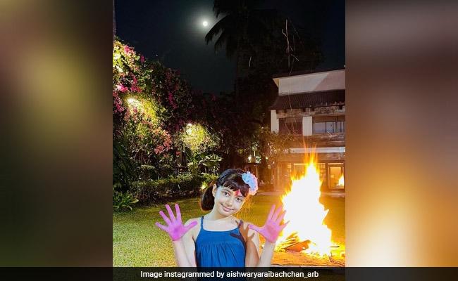 Holi 2021: A Glimpse Of The Bachchan Residence In Aishwarya And Aaradhya's Holi Celebrations