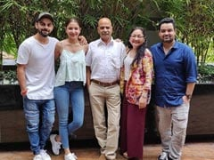 ICYMI: Anushka Sharma, Virat Kohli's Fam-Jam Pic In Her Birthday Post For Dad