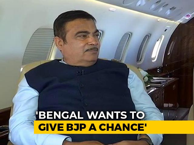 "Video : ""Bengal Wants To Give BJP A Chance"": Nitin Gadkari To NDTV"