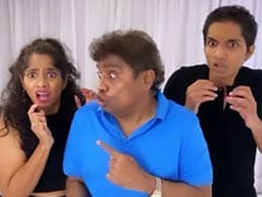 Johnny Lever's 'Don't Touch Me' Dance With Kids Jamie, Jesse Is A Viral Hit
