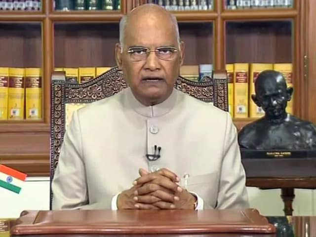 Video : President Kovind Visits Army Hospital After Experiencing Chest Discomfort