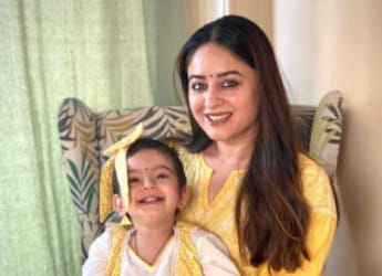 Let Your Child Explore The World Of Food, Says TV Actor Mahhi Vij; Internet's Impressed