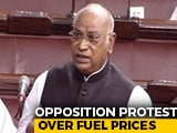 "Video : ""Country Suffering"": Opposition Protests Over Fuel Prices In Parliament"