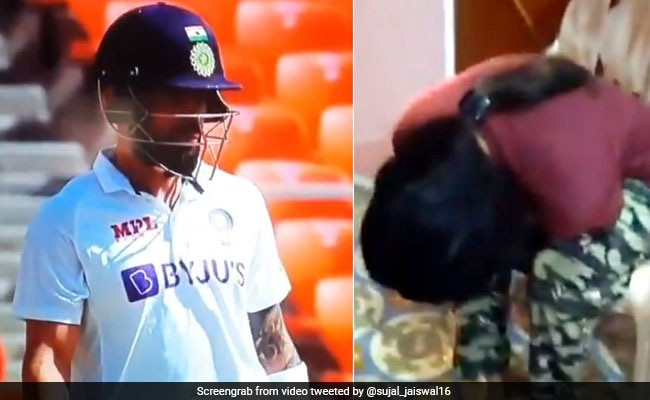 IND vs ENG: कोहली 0 पर हुए आउट, तो बच्ची ने पकड़ लिया सिर, भाई बोला-