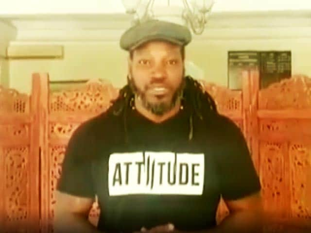 Video : Chris Gayle Thanks India, PM Modi for Sending Covid Vaccine To Jamaica