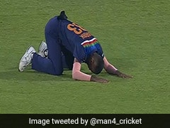 Watch: Hardik Pandya Bows Down To Shikhar Dhawan After He Takes Ben Stokes Catch