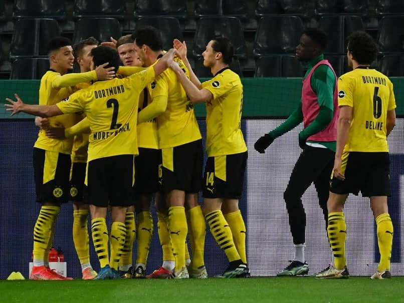 Jadon Sancho Fires Borussia Dortmund Into German Cup Semi-Finals