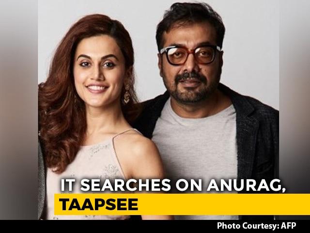 Video : Filmmaker Anurag Kashyap, Actor Taapsee Pannu Face Income Tax Raids