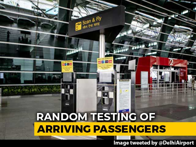 Video : Random Covid Testing At Delhi Airport From Today, Rail, Bus Stations Next