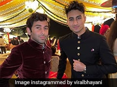 पंजाब के सीएम कैप्टन अमरिंदर सिंह की पोती की शादी में शामिल हुए इब्राहिम अली ख़ान, देखें Photos