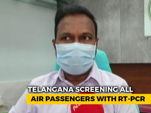 Video : Telangana Steps Up Measures Amid Covid Surge In Neighbouring States