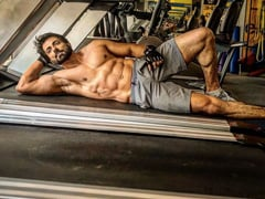 Only If Lying On A Treadmill Could Get Us Abs Like Sonu Sood