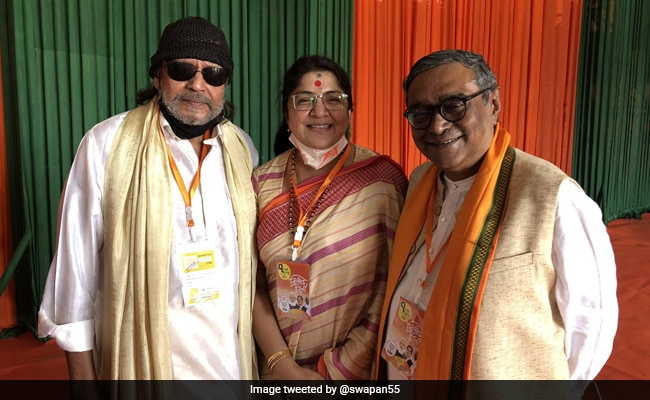 """""""I'm A Pure Cobra"""": What Actor Mithun Chakraborty Said After Joining BJP"""