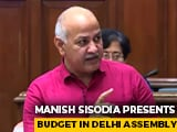 "Video : In Delhi ""Patriotism Budget"", Singapore-Level Per Capita Income By 2047"