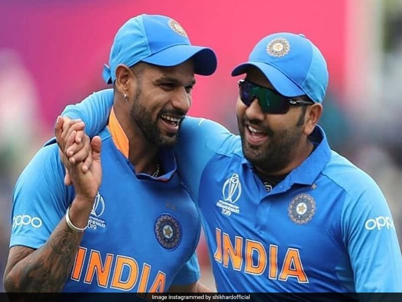 """India vs England: Shikhar Dhawan Enjoys """"Quality Downtime"""" With Rohit Sharma, Others. See Pics"""