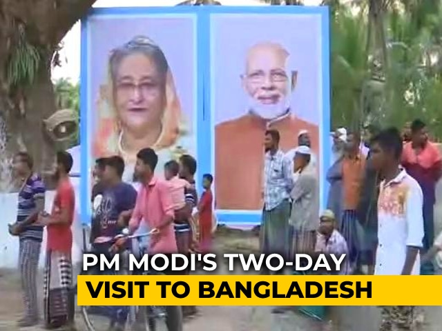 Video : Bangladesh Redecorates 2 Hindu Temples For PM Modi's Visit