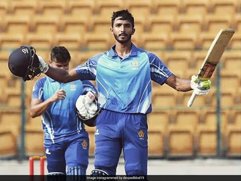 Vijay Hazare Trophy: Devdutt Padikkal Scores Fourth Consecutive Century