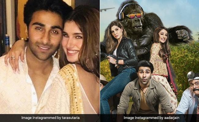 Tara Sutaria's Shout-Out To Rumoured Boyfriend Aadar Jain For His Film Hello Charlie's Trailer