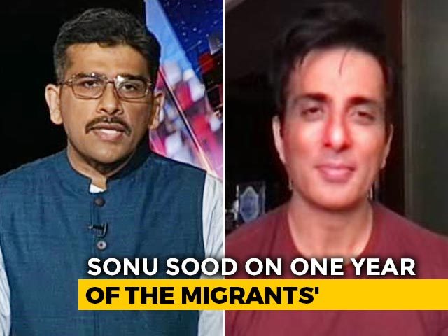 """Video : """"We Should Remember This Day"""": Sonu Sood To NDTV On Lockdown, Migration"""