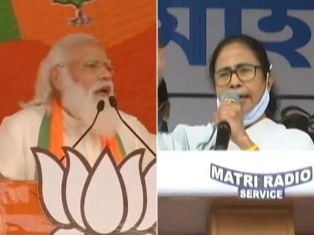 Video : Battleground Bengal: PM Modi Vs Mamata Banerjee