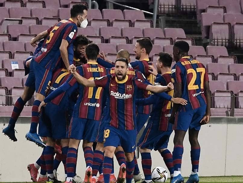Copa Del Rey Final: Barcelona will face either Athletic Bilbao or Levante, who are 1-1 in their semi-final, in the final on April 17 in Seville.