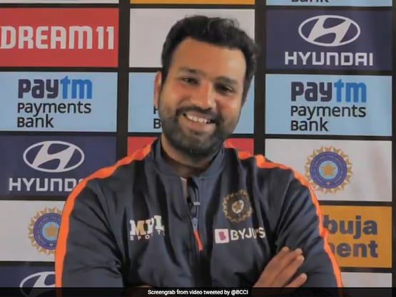 """""""Are You Prepared To Do The Same?"""" Rohit Sharma Asks Media To Let Rishabh Pant Be. Watch"""