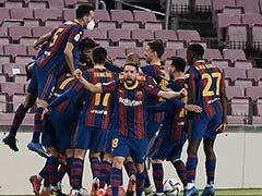 Copa Del Rey: Extra-Time Winner Lightens Mood As Barcelona Defeat Sevilla To Reach Final
