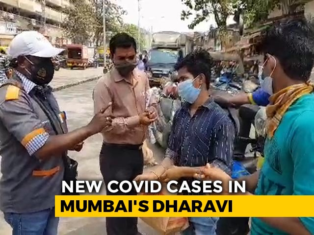 Video : 30 New Covid Cases In Mumbai's Dharavi, First Daily High In 6 Months