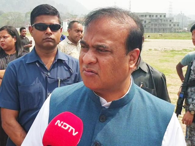 """Video : """"BJP Committed To CAA. What's Wrong In That?"""" Assam's Himanta Sarma To NDTV"""