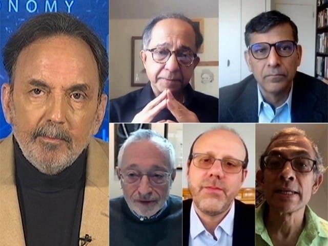 Video : Prannoy Roy, Raghuram Rajan And Abhijit Banerjee On Economy, Bitcoin