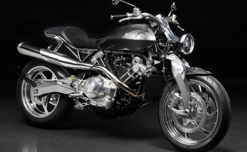 The Brough Superior Lawrence is a homage to T.E. Lawrence, aka Lawrence of Arabia
