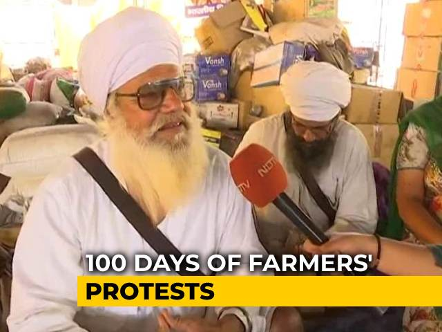Video : 100 Days Of Farmers' Protest