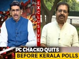Video: Can Never Be Part Of A Communal Party Like BJP: PC Chacko After Quitting Congress