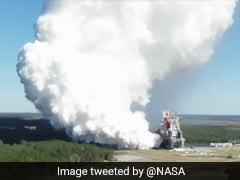 Video: Success In Giant Rocket Test For NASA Preparing Return To Moon